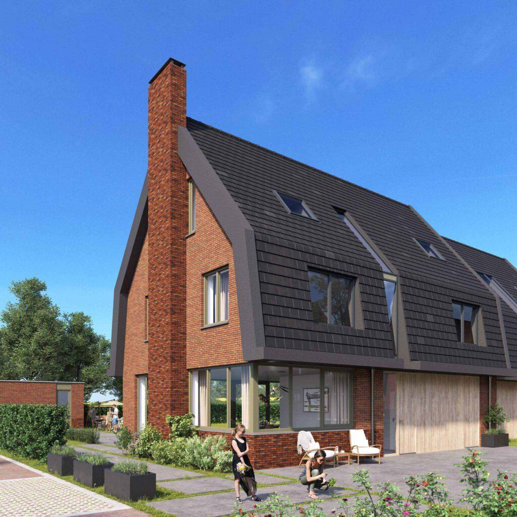 Nieuwbouw woning in Beverwijk, verkocht door Teer makelaars