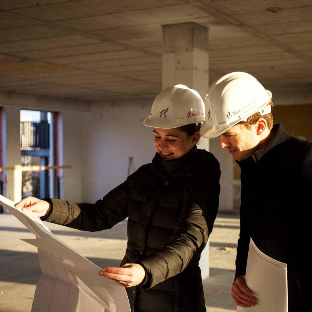 Nieuwbouwspecialist in gebouw Teer makelaars